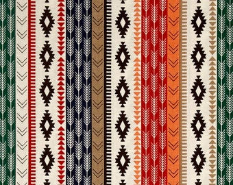 Splat splash Mat, Art Mat or Table Cloth for highchair, High Adventure, Southwest tribal style, Waterproof laminated cotton, BPA Free