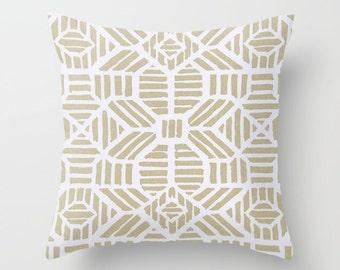 Metallic Gold Pillow cover Gold Pillow Cover Decorative Pillow Cover Grecian Pillows Size Choice Metallic Gold Pillow