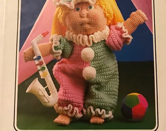 10 Debbie Ann's Vintage Crochet Patterns - Set 1