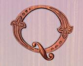 Wooden Letters Ornate Let...
