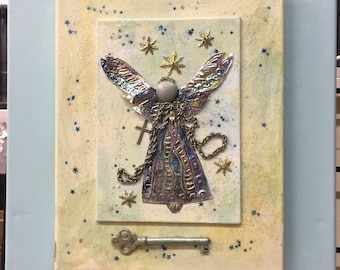 Angel wall Art... May A Guardian Angel Watch Over You