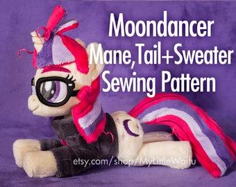 Moondancer Mane, Tail + Sweater Sewing Pattern