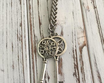 Where are my Keys Chainmaille Keychain--Stainless Steel...(wholesale pricing)