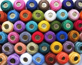 Perle Cotton Thread Set - Size 8 Finca Pearl Cotton by Presencia - You Pick Three!