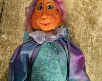 Primitive Fairy - Handmade Doll - Primitive - Halloween Decor - Art Doll - Collectible Doll - Primitive Doll - Fall Decor - Fairy - Faap
