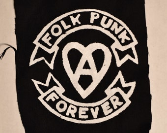 Folk Punk Forever - Punk Patch