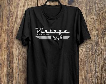 70th Birthday Gift - 70th Birthday Shirt - Born in 1948 Birthday Shirt - Birthday Gift For 70th Birthday - Dad Birthday - Grandpa Birthday