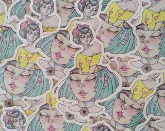 Stickers - Original Illustration - Come Alive