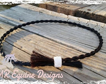 Hand Braided Horse Hair Hat Band