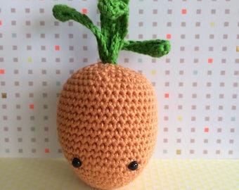 Crochet carrot