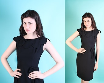 Cocktail Dress / Little Black Dress / Mad Men / Dress / Dresses / Wiggle / Avant Garde / Couture / 0822