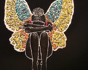 Black Butterfly (Womens)