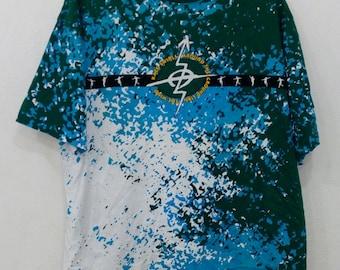 Kazu swirls J league tshirt nice design full print xl size