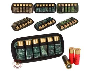 Ammo Pouch Shotgun 12/16 Ga Cartridge Holder Belt Case