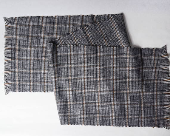 W 34 / L 34 Vintage 1940s Pendleton Wool Trapper Pants Glen Plaid Check Heavy Wool Winter Pants Hunter Ourdoorsman Men's Pants gFDzK