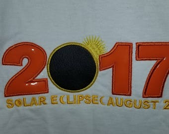2017 Solar Eclipse Applique