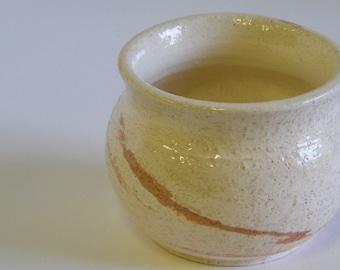 Agate Ware wheel thrown pot