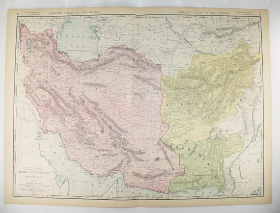 Large Map of Middle East Persia Map Afghanistan Persian Gulf