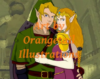 Zelda and Link