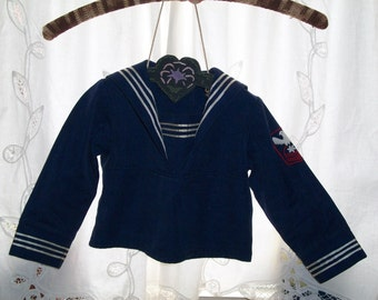 Child or Doll Sailor Blouse