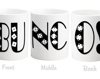 BUNCO mug hostess gift idea
