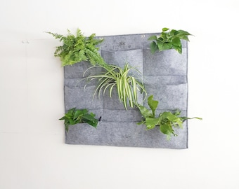 Wall planter / Plant holder / Living wall / Planter / Plant container / Home decor / Gift / Gardening gifts / Plants / Herbs / Gardening