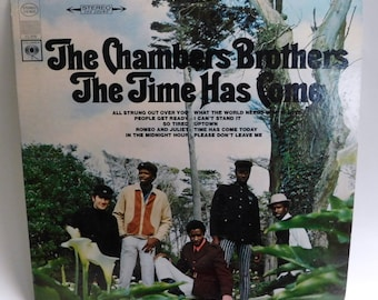The Chambers Brothers The Time Has Come 1967 Psych - Vintage Vinyl Record Album CS9522 Columbia 2 eye