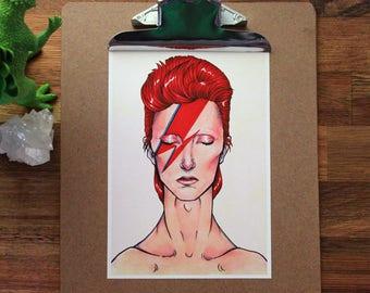David Bowie - Print A5