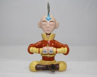 Avatar Aang meditating pendant