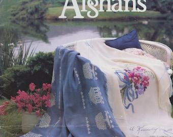 Cross Stitch booklet Cross Stitch Afghans American School of Needlework 3516