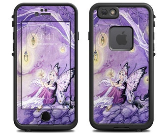 Skin for LifeProof iPhone Case - Chasing Butterflies by Meredith Dillman - Sticker Decal - 7, 6/6S, Plus, 5/5S/SE, 5C, 4/4S, Fre, Nuud