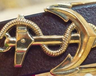 Anchor Belt Buckle
