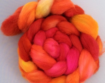 Juicy - handdyed BFL-top 3.5 oz