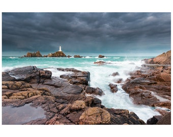 La Corbiere Lighthouse - Jersey - British Seascape Photography