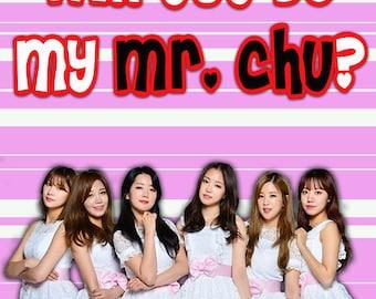 Apink Mr Chu Valentine kpop