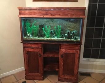 Fish Tank Stand/Hutch, Aquarium Stand, Entertainment Stand