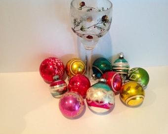 Assortment of Vintage Shiny Brite Ornaments