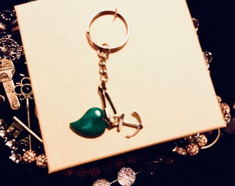 Unique Heart shaped keychain