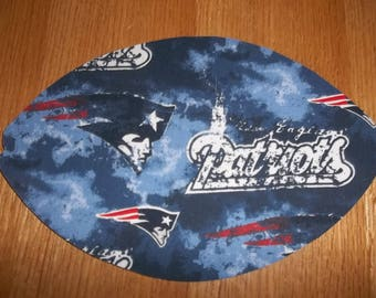 Mouse Pad, New England Patriots, Mouse Pads, Mousepad, Desk Accessories, Mouse Mat, Office Decor, Football Shape, Computer Mouse Pad