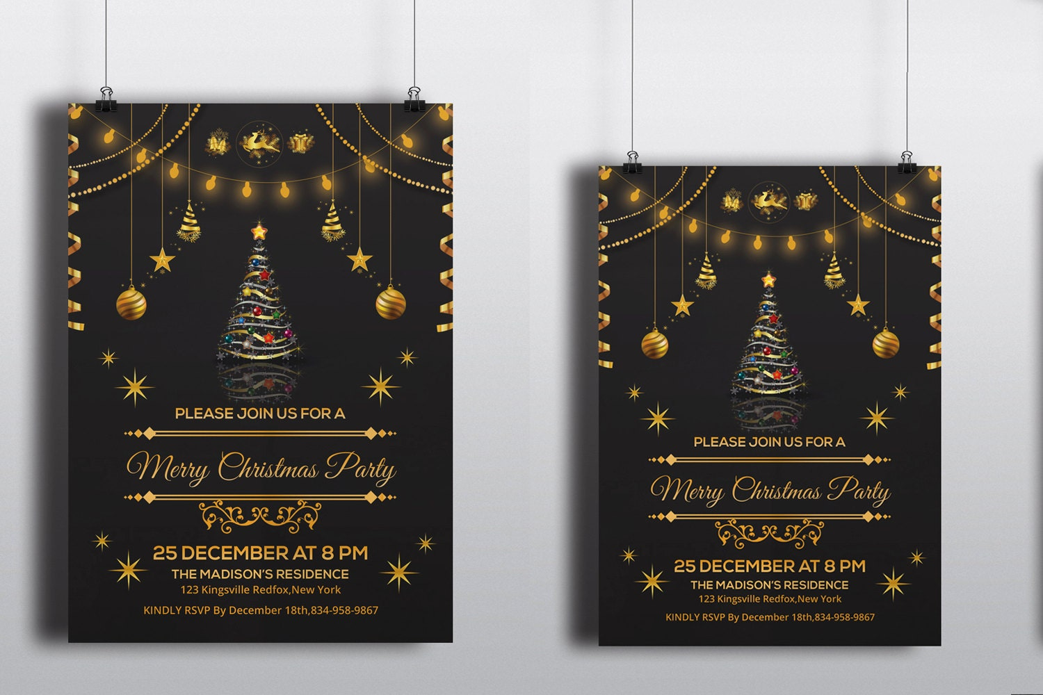 company holiday party invitation template - Etame.mibawa.co