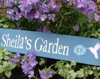 Personalized Garden Sign | Custom Garden Sign | Choose Colors and Design | Mother's Day Gift | Gift for Mom and Dad, Grandma and Grandpa