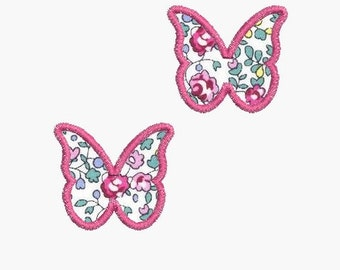 Instant download Machine Embroidery design Butterflies finish links