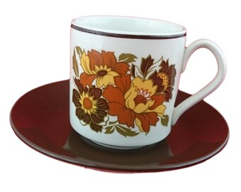 Cabana Coffee Cup & Saucer Duo by Johnson Bros