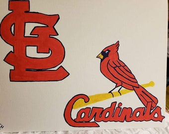 St. Louis Cardinals painting