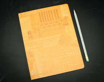 Programming Computer Science Softcover Notebook | Dot Grid Notebook, Bullet Journal, Mathematics, Recycled Paper Journal, Ada Lovelace, Code