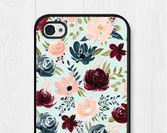 iPhone 8 Case Floral iPhone SE Case Mint iPhone 7 Case iPhone 6 Case Samsung Galaxy S7 Case Cute iPhone 5 Case Samsung Galaxy S6 Case
