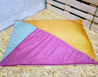 Orange, pink and green Cumulus (150x115cm)