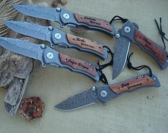Personalized Knife, Engrave Pocket, Groomsman Gift, Knife Groomsmen,Gift Engrave,Knife Personalized,Groomsman Knife (1) Knife