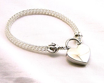 MADE TO ORDER The Roses Locking Trichinopoly Slave Collar Sterling Silver