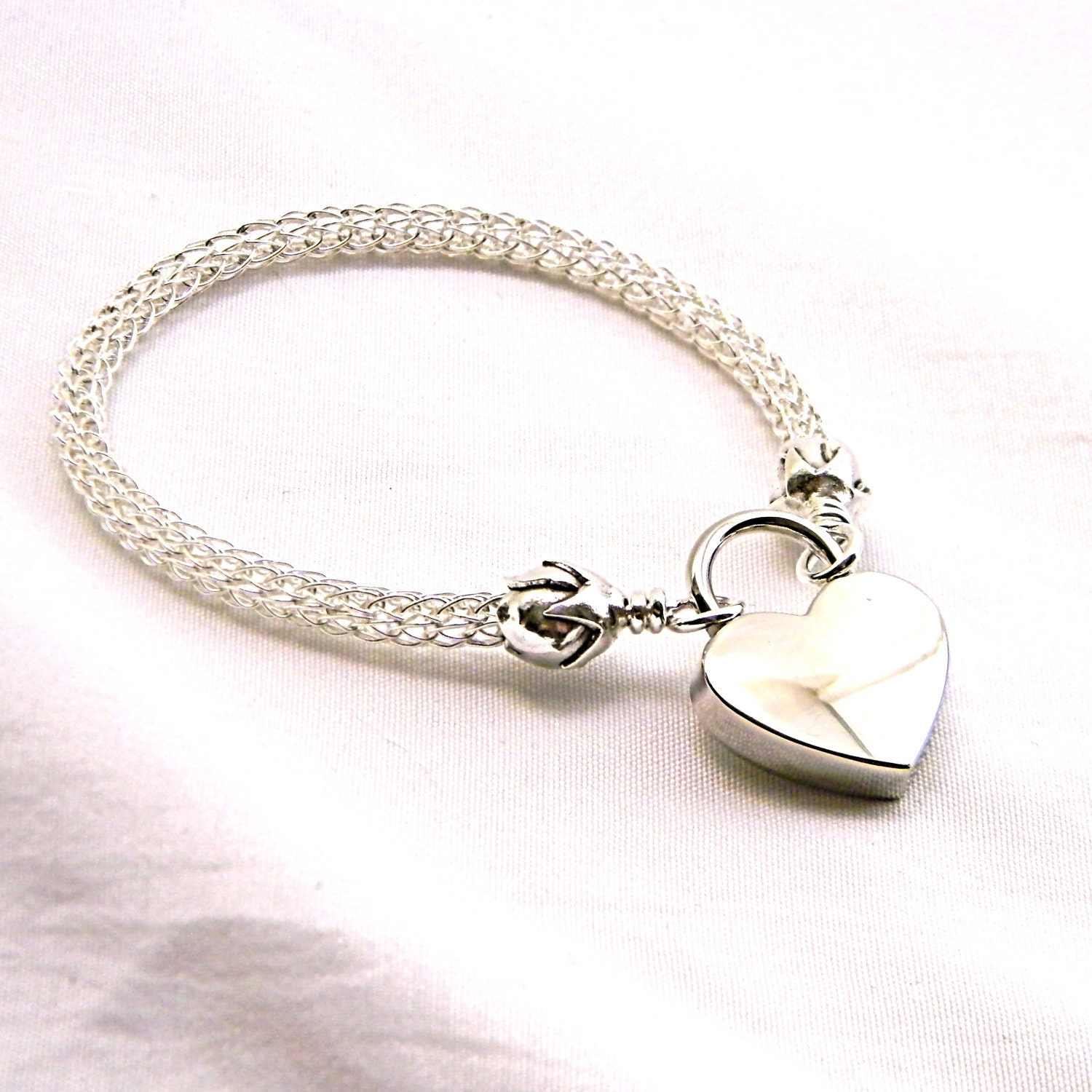 silver bracelet chain locking listing slave il bell sterling tiny little anklet fancy bdsm permanently ankle fullxfull